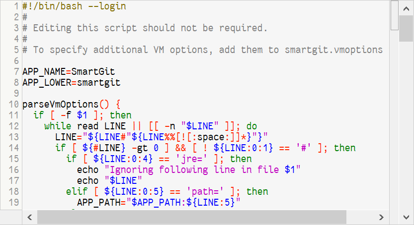 Improved syntax coloring for many languages.
